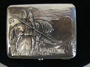 1927 tobacco tin