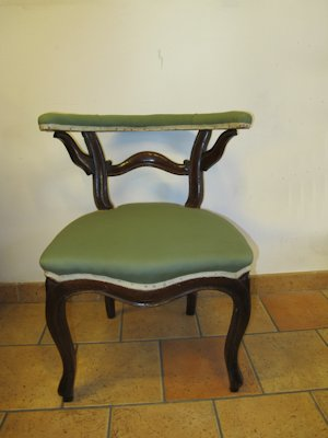 Late 19th Century bedroom chair
