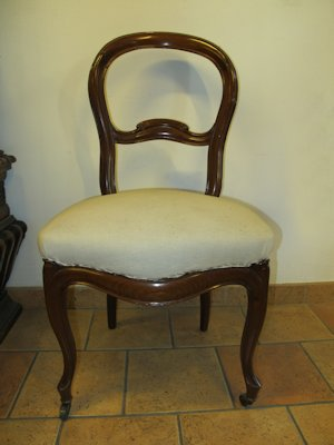 Four late 19th Century chairs