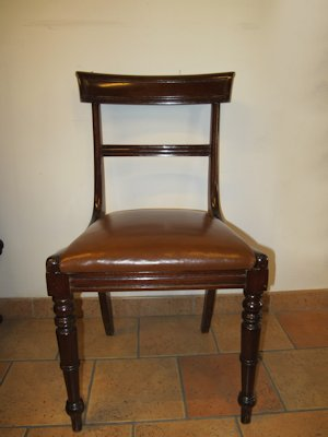 Six late 19th Century chairs
