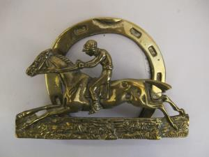 Early 20th Century horseshoe mail holders