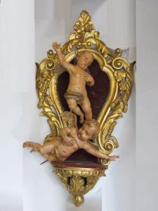 17th Century pair of angels