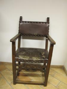 17th Century high chair