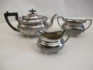 Edwardian tea set