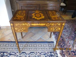 Inlaid Dutch dressing table